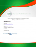 Policy research on the Kenyan textile industry - Findings and recommendations (ACTIF-2013)