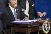 Obama signs trade (incl. AGOA), worker assistance bills into law