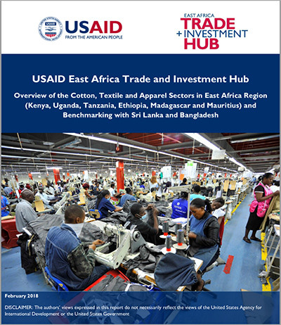 Overview of the Cotton, Textile and Apparel Sectors in East Africa Region and Benchmarking with Sri Lanka and Bangladesh