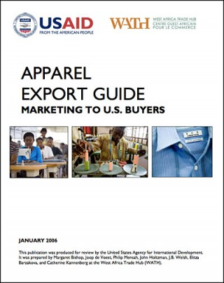 Apparel export guide - WA Tradehub 2006