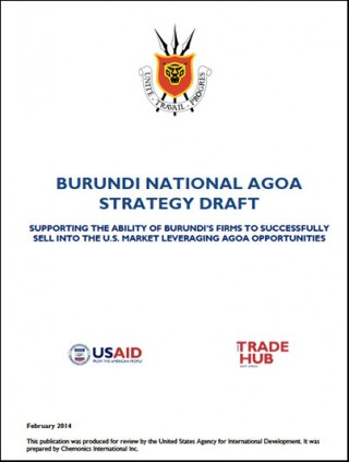 Burundi - National AGOA Strategy