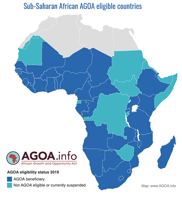 agoa eligible countries 2019