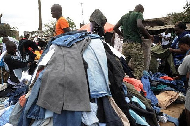 Image result for charities donating clothing to africa