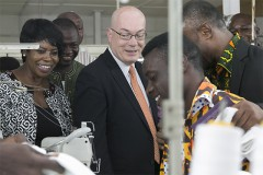 Remarks by US Ambassador Jackson at the Ghana AGOA utilization strategy event