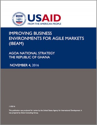 Ghana - National AGOA Strategy