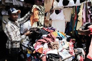 Used-clothing trade causes contention between US and East African Nations