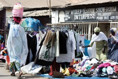 Second-hand clothing showdown brewing