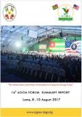 AGOA Forum 2017: Brochure and Photos