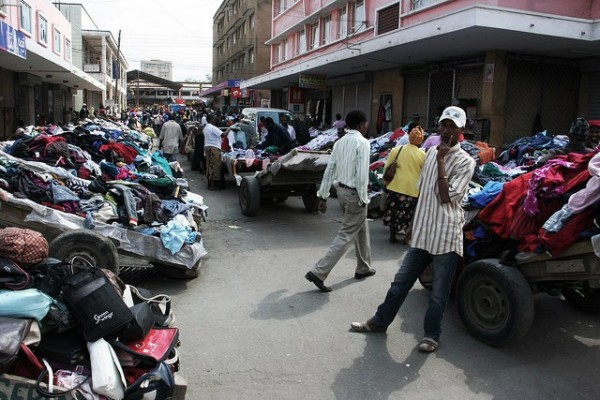 The controversy of used clothing: East African-US trade relations