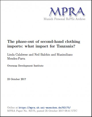The phase-out of second-hand clothing imports: what impact for Tanzania?