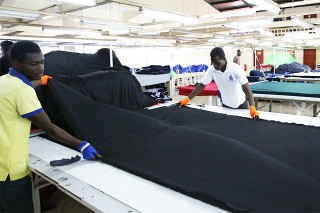 Ghana to set up equipment hub for apparel sector