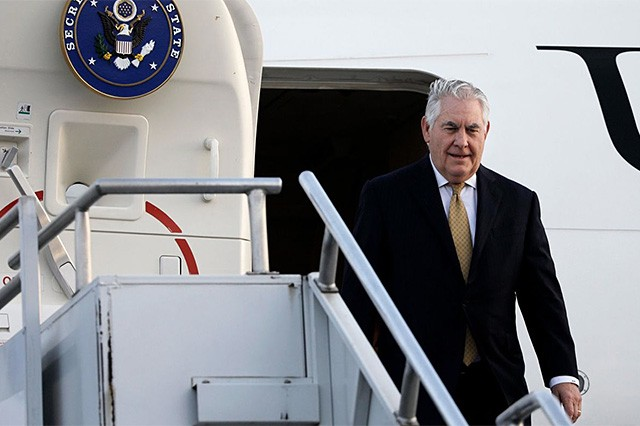 Trump's Africa policy taking shape with Tillerson's trip