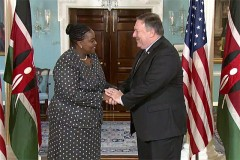 Kenya: Foreign Affairs Secretary meets ambassadors in the US ahead of Kenyatta-Trump meeting