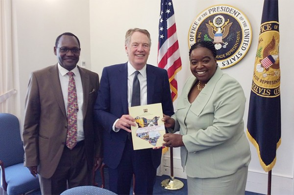 Kenyan government presents USAID Hub-supported AGOA Strategy to USTR
