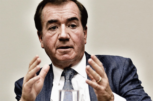 South Africa's champion in the US, Congressman Ed Royce, takes a bow