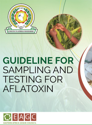 Guideline for sampling and testing for aflatoxin