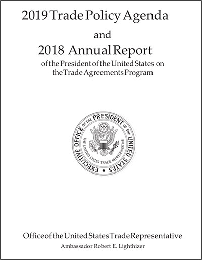 2019 US Trade Policy Agenda and 2018 Annual Report