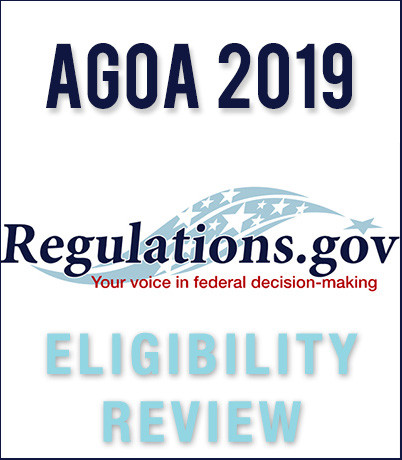 DOWNLOAD: Eligibility Review 2019: NOTICE and CALL FOR SUBMISSIONS pertaining to 2020 year