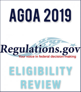 Eligibility Review 2019: NOTICE and CALL FOR SUBMISSIONS pertaining to 2020 year