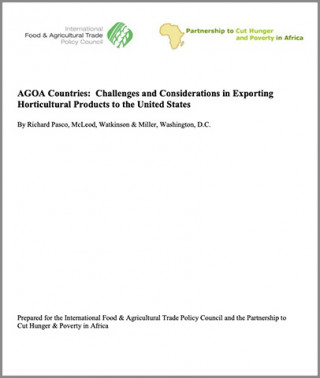 AGOA Countries: Challenges and considerations in exporting horticultural products to the United States