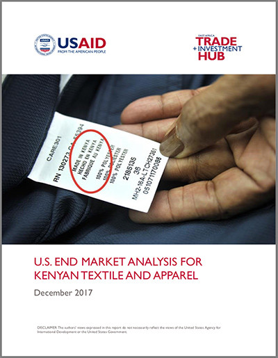 US end-market analysis for Kenyan textiles and apparel