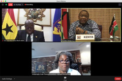 Kenya 'raring to go' on free trade deal with US, Uhuru says