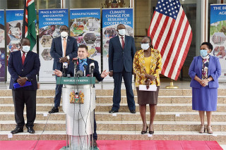 Joint statement between the United States and Kenya on the launch of negotiations towards a FTA [incl. video]