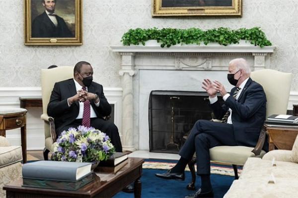 Biden, Kenya President Kenyatta to hold White House meeting