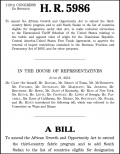 Bill H.R. 5986 - submitted to House Ways and Means 21 June 2012 to extend AGOA third country fabric provisions
