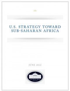 2012 US strategy towards Sub-Saharan Africa