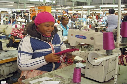 Swaziland: 15 000 employed in textile industry