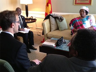 Malawi, US seek to boost bilateral trade, investment