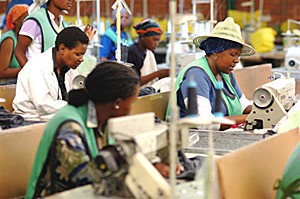 Lesotho: Growth in textiles and clothing plays central role in jobs creation