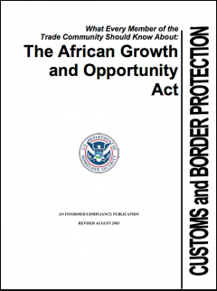 What every member of the trade community should know about AGOA 2003