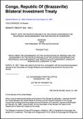 Congo - United States Bilateral Investment Treaty (BIT)