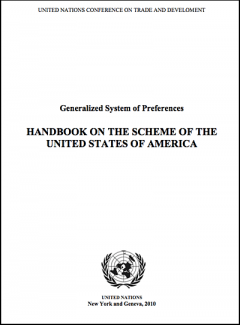 Handbook on the GSP Scheme of the United States 2010 (UNCTAD)