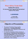 Building SPS capacity for increased international trade - Tradehub