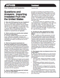 Questions and Answers: Importing irradiated fruit into the United States