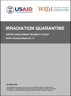 Irradiation quarantine - Export development feasibility Study Tradehub 2005