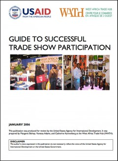 Guidelines to successful tradeshow participation