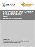 Packaging in West Africa - A resource guide (Tradehub)