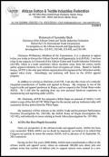 ACTIF - AGOA 2014 hearings - testimony