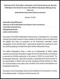 Ethiopia submission - AGOA 2014 hearings - testimony