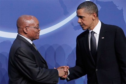 Zuma to lead SA team to US-Africa summit