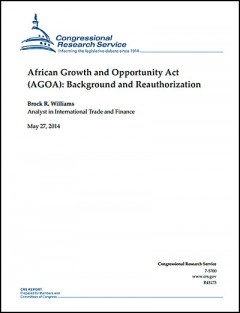 AGOA: Background and Reauthorization (CRS)