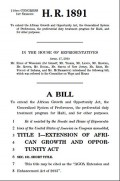 Bill H.R. 1891 - AGOA Extension and Enhancement Act of 2015