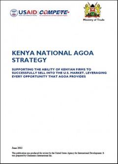 Kenya - National AGOA Strategy