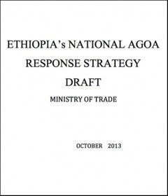 Ethiopia - National AGOA Strategy (DRAFT)