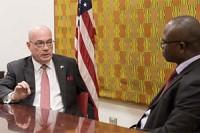 Number of American companies coming to Ghana increasing